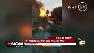 911 calls released from plane crash into home - Video