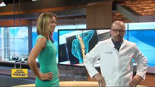 Exercise, good habits to reduce back problems don't have to be a pain - Video
