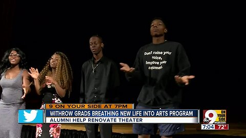 Withrow grads breathing new life into arts program