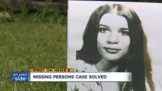 Missing Akron girl identified 40 years later - Video