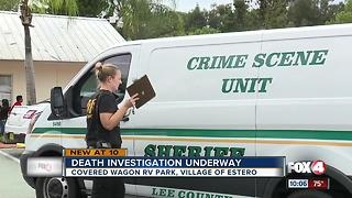 Death investigation in Estero spans across two scenes - Video