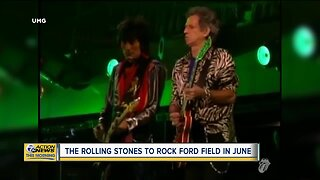 The Rolling Stones to Rock Ford Field