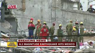 Strong 6.2 aftershock rocks southern Mexico - Video