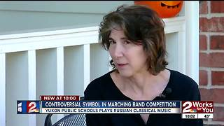 Props used in marching band competition concerns parents - Video