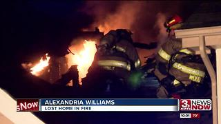 Community supports family after home is destroyed in fire - Video