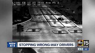 Technology being used to stop wrong-way drivers - Video