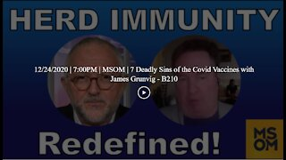 12/24/2020 | 7:00PM | MSOM | 7 Deadly Sins of the Covid Vaccines with James Grunvig