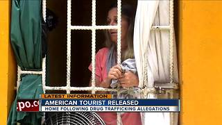 American tourist released - Video