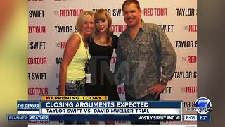 Closing arguments expected Monday in Taylor Swift groping case - Video