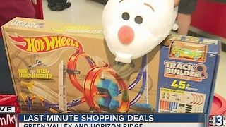 Local stores and others offering deals for last-minute shoppers - Video