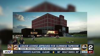 Liquor license approved for Guinness taproom - Video