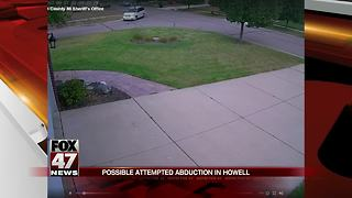 Police ask for help finding woman that approached student in Livingston County - Video
