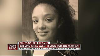 Tampa police search for missing, endangered teen - Video