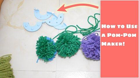 How to Use a Pom Pom Maker
