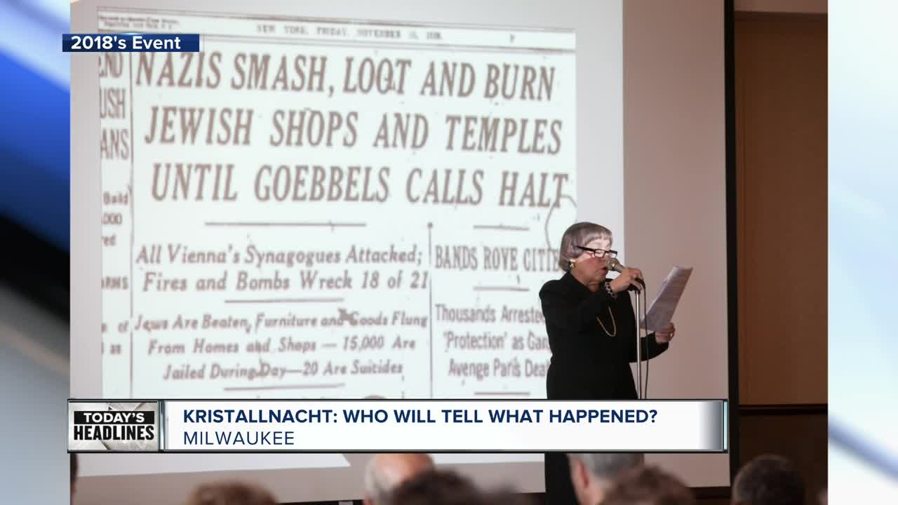Kristallnacht: Who will tell what happened?