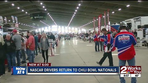 Chili Bowl Nationals | NASCAR driver returns to the dirt track