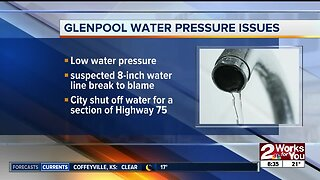 Glenpool water pressure issues