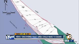Major earthquake could originate from newly discovered fault area, says study