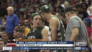 NBA Summer League tips off in Las Vegas - Video