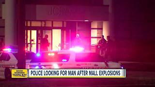 Two improvised explosive devices go off at Eagle Ridge Mall in Lake Wales - Video