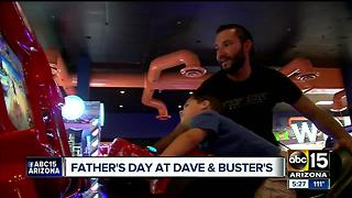 Father's Day at Dave and Busters - Video