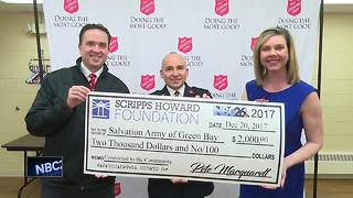 Scripps Howard Foundation donates to Northeast Wisconsin organizations - Video
