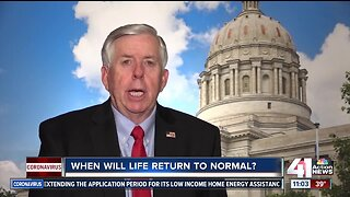 MO governor says reopening state could be 'gradual' process
