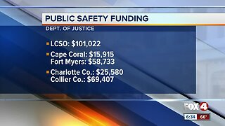 Department of Justice announces public safety funding in Southwest Florida