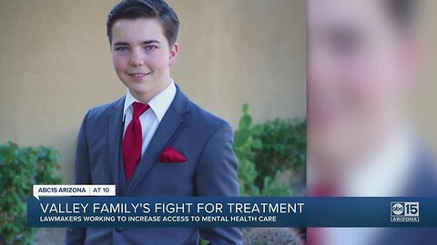 Family's fight to get better access to mental healthcare echoed by governor