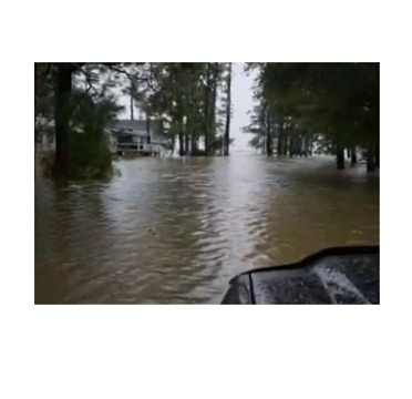 Hurricane Florence Brings Severe Flooding to Kennels Beach