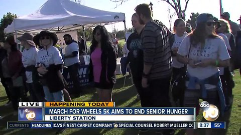 March for wheel 5k aims to end senior hunger