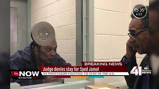 Judge denies stay for Kansas chemist Syed Jamal - Video