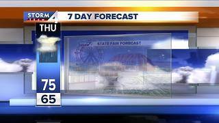 Wisconsin State Fair Forecast - Video