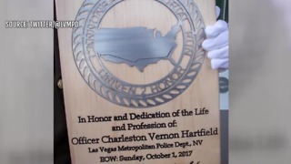 Officer Charleston Hartfield honored in Washington, D.C. - Video