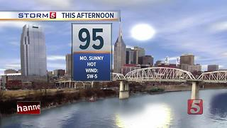 Lelan's Afternoon Forecast: Tuesday, July 11, 2017