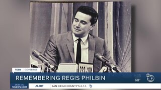 San Diego co-workers and friends remember Regis Philbin
