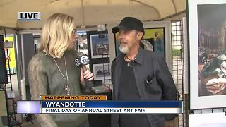Poster artists at the Wyandotte Street Art Fair - Video