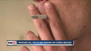 Do you think smoking tobacco should be banned from public beaches