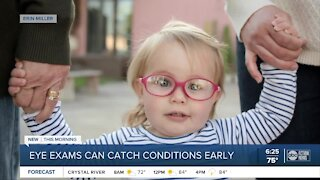 Florida mom warns about red flags, stresses importance of eye exams for children