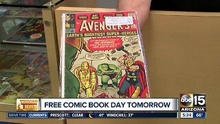 """""""All About Books & Comics"""" preps for Free Comic Book Day"""