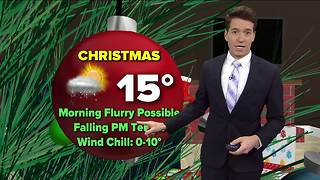 Wind Chill Advisory Kicks in Christmas Day - Video