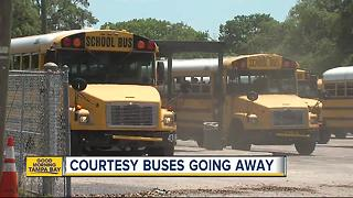 Hundreds of Hillsborough County students losing complimentary busing to schools starting this fall - Video