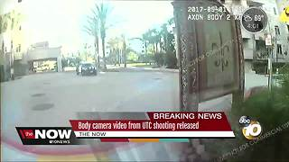 Body camera video from UTC shooting released