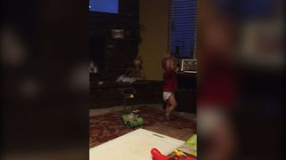 Cute Baby Hogs The Dance Floor - Video