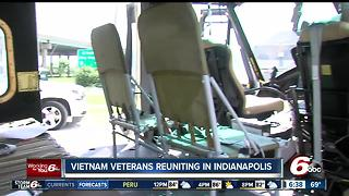 Vietnam veterans reuniting in Indianapolis - Video