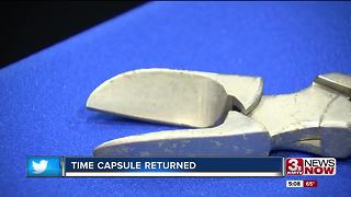 Methodist Hospital opens time capsule - Video