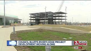 Final beam placed on CB riverfront project - Video