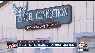 Hancock County food pantries seeing increase in people asking for help - Video