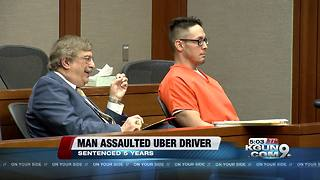 Man convicted of sexual assault against Uber driver sentenced - Video