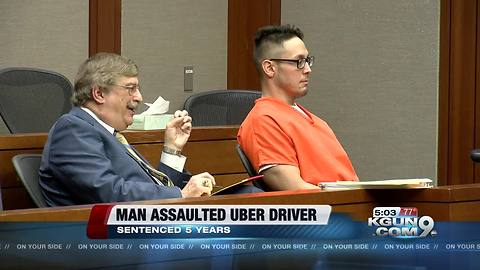 Man convicted of sexual assault against Uber driver sentenced